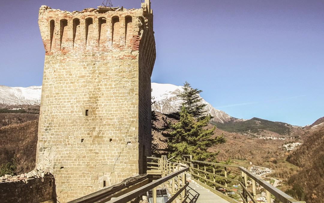 LA ROCCA AL SICURO: iniziati i lavori per la messa in sicurezza della Rocca Medioevale di Arquata del Tronto