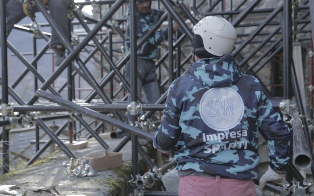Interventi post sisma: la messa in sicurezza della Rocca di Arquata